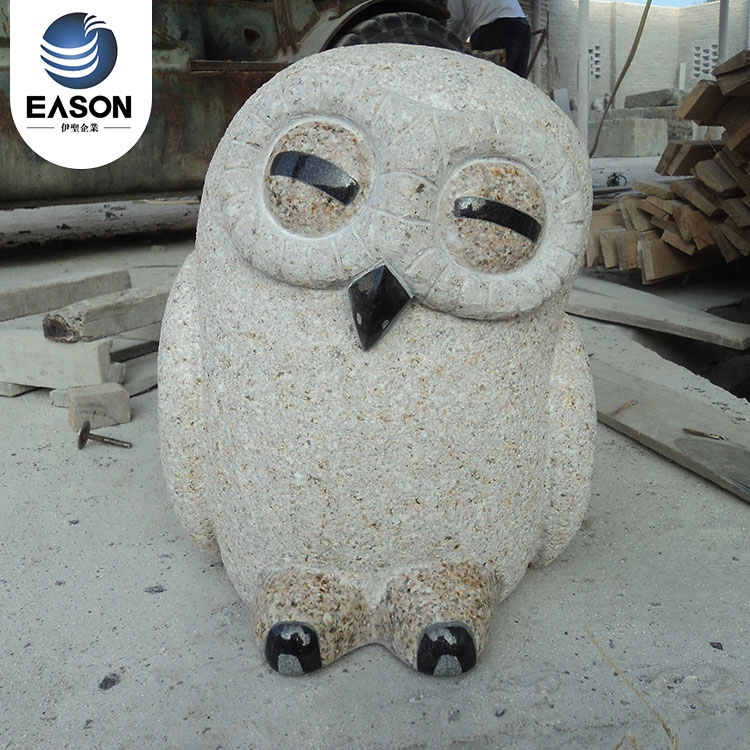 Eason high quality owl stone carving custom from china