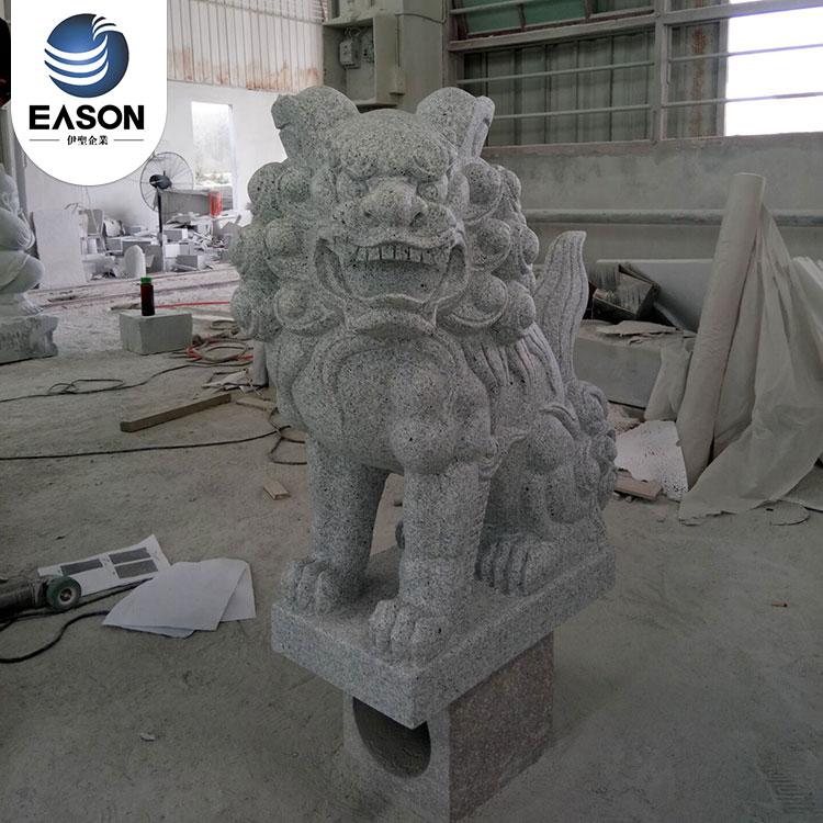 High quality brave troops stone carving custom easonstone